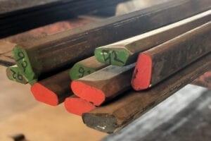 Fremvisning af kamprofil stål