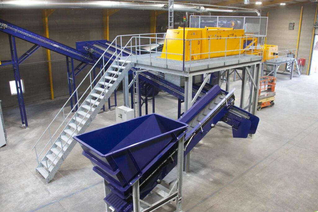 sorteringsanlæg fra viggo bendz